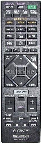 RMT-AM120U оригинальный пульт для музыкального центра Sony HCD-SHAKEX1 и других