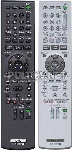 RMT-D230P, RMT-D246P пульт для DVD/HDD-рекордера SONY RDR-HX720 и других