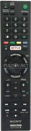 RMT-TX100A пульт для телевизора Sony KD-75X8500C и др.