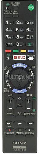 RMT-TX101D, RMT-TX101E оригинальный пульт для телевизора Sony KDL-32W705C и др.