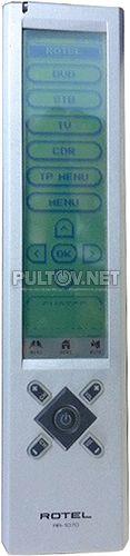 RR-1070 пульт для DVD-ресивера Rotel RSDX-02e