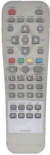 PASR42E00D пульт для плазменного телевизора RoverScan Vision 4200
