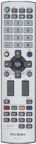 MIRAI RP51-32RE пульт для телевизора Mirai DTL-522P201