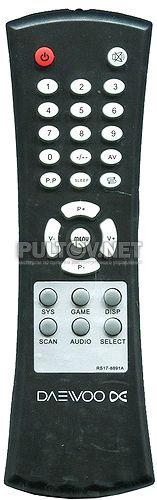 RS17-8891A пульт для телевизора DAEWOO KR-1409