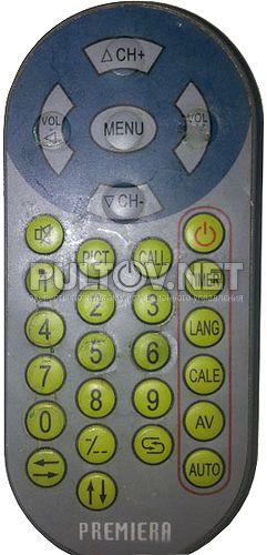 TV-807WD, Premiera RTR-830TX пульт для автомобильного телевизора