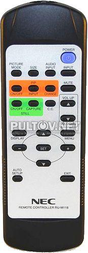 RU-M118 пульт для ЖК-монитора NEC MultiSync V321 и других