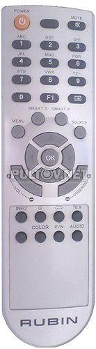 RB-19SL1, RB-19K101 пульт для телевизора Rubin