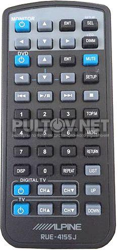 RUE-4155J для потолочного монитора ALPINE TMX-R1100E