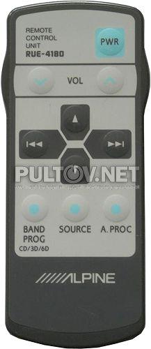 RUE-4180 пульт для цифрового фазового процессора Alpine PXA-H600