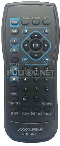 RUE-4203 пульт для автомагнитолы ALPINE DVA-9861Ri