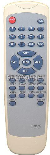 K16R-C10, AKAI TVD-3, ROLSEN K16R-C2, K16R-C3, SITRONICS K16R-C17, K16R-C10 пульт для телевизора