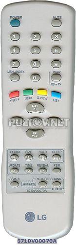 ROLSEN 6710V00070A пульт для телевизора - Пульты ДУ! Интернет-магазин ПДУ! Все пульты дистанционного управления!