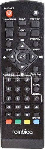 Rombica Cinema HD T2 (MPT-v0001) пульт для медиаплеера