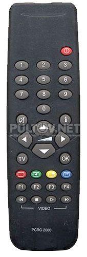 PALLADIUM RC2000, PCRC2000, RC221-LP пульт для телевизора PALLADIUM 772/988 (также комлектовался для бренда SCHNEIDER и других)