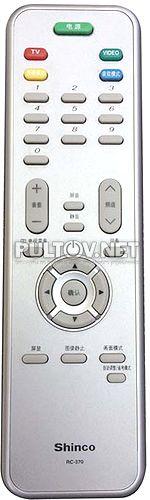 RC-370 пульт для телевизора Shinco LCD-3220