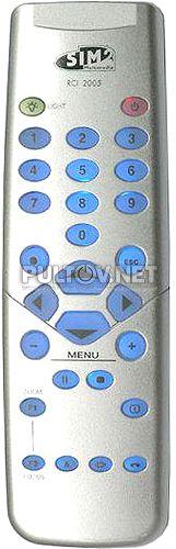 SIM2 Multimedia RCI 2005 пульт для проектора SIM2 Multimedia C3X 1080 и др.