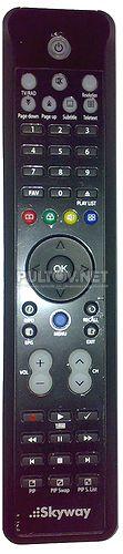 CLASSIC HD SAT , Galaxy Innovations GI S8290, Superbox PRO HD 9618 пульт для спутниковых ресиверов SKYWAY и GI