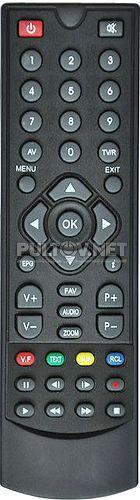 SRT 8500 пульт для приставки цифрового телевидения Strong