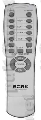 SS TAR 2230 SI пульт для домашнего кинотеатра (вариант пульта № 1)