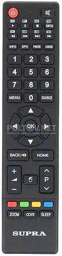 JKT-91B оригинальный пульт для телевизора Supra STV-LC40ST2000F