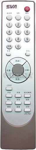 SVA LRC702 пульт для телевизора SVA LT2008P3C