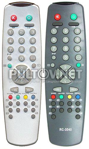 11U19-2  , 11UV30-1, RC-3040 пульт для телевизора SANYO