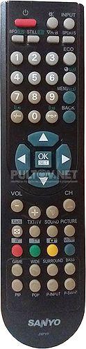 JXPYF пульт для телевизора Sanyo LCD-42K30-HD