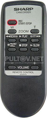 G0084TA RRMCG0084TASA пульт для видеокамеры Sharp VL-AH160U и др.
