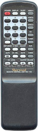 RM-105 пульт для AV-ресивера Sherwood RD-6500 и др.