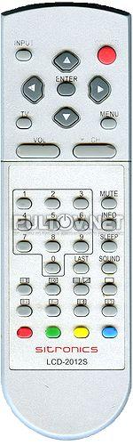 LCD-2012S пульт для телевизора Sitronics