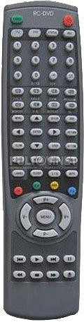 Sitronics RC-DVD STC-2109F, HORIZONT 21KF19, SAGA 2143 пульт для телевизора со встроенным DVD