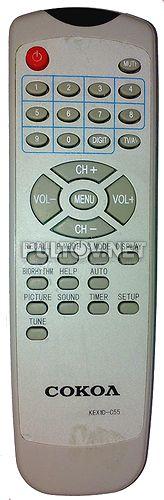 KEX10-C55, KEX1D-C55, KEX1D-C46 пульт для телевизора