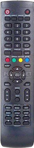 Y-72C2 (Timeshift) пульт для телевизора Harper 32R0550T и др.