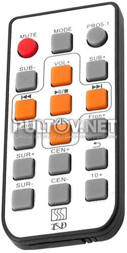 T&D TDE 376 пульт для акустической системы
