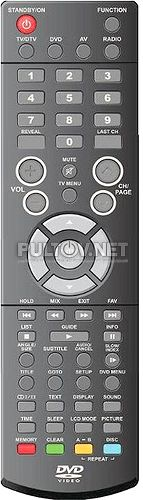 Technika LCD19DVDID-107 пульт для телевизора