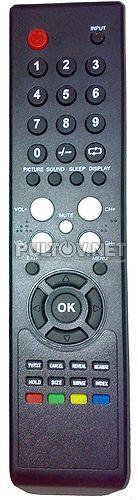 TL-19H405B пульт для телевизора IZUMI (вариант 1)