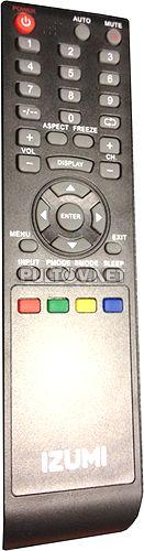 TLE16H102B пульт для телевизора IZUMI