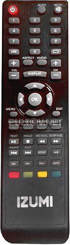 TLE22F750B, TL32H700B пульт для телевизора IZUMI