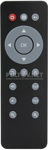 Toucan NANO 4K пульт для медиаплеера IconBit