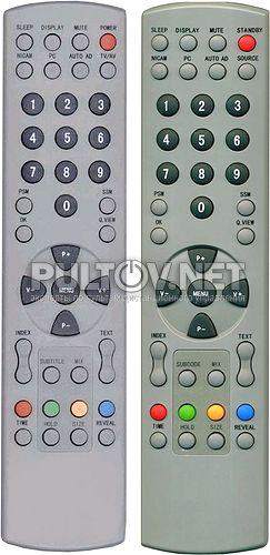 RC8163A, RC8163C, RC8163M пульт для телевизора TRONY и HYUNDAI