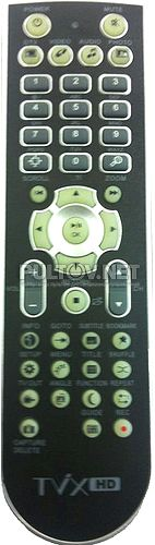 DVICO Tvix-HD M-6500, M-7000 пульт для медиаплеера DVICO