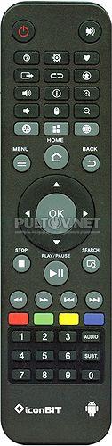 Toucan Smart 3D пульт для медиаплеера Iconbit
