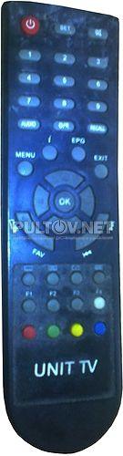 UNIT TV C1000, Coship CDVBT1350, Волгателеком CDVBT1350 пульт для спутникового ресивера