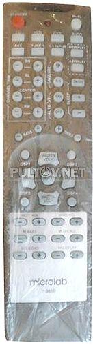 V3850 пульт для AV-усилителя Microlab
