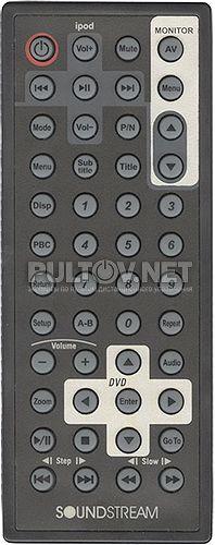 Soundstream VCM-11DXX, Power Acoustik PMD-121CM пульт для потолочного монитора Soundstream