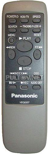 VEQ2337, VEQ2335 пульт для видеомагнитофона Panasonic NV-FJ8AM