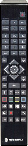 R1A, RCU300T пульт для приставки IPTV MOTOROLA VIP-1200