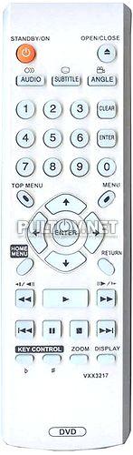 VXX3217 пульт для DVD-плеера Pioneer DV-500K-K и др.