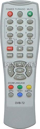 T40 пульт для DVB-T2-приставки