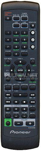 XXD3156, XXD3158 пульт для домашнего кинотеатра PIONEER DCS-385K и DCS-395K
